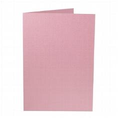 """Artoz Doppelkarten """"Perle"""" - A5 dunkelrosa"""