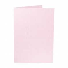 "Artoz Doppelkarte ""Perle"" - A5 rosé"