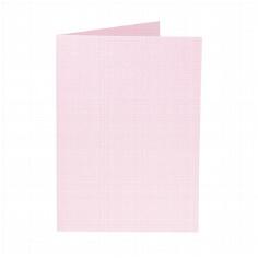 "Artoz Doppelkarte ""Perle"" B6, rosé"