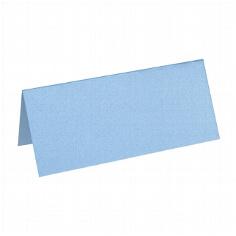 """Artoz Tischkarte """"Perle"""" wasserblau"""