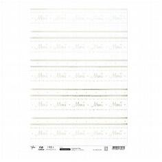 Transparentpapier Menü