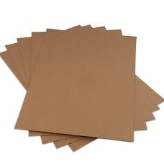 Bastelkarton aus Kraftpapier für Hochzeitskarten und Geschenkanhänger