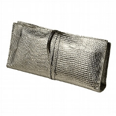 "Clutch-Bag ""Tebe"", platinum"