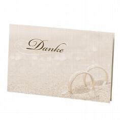 """Dankeskarte """"Glenna"""" für die Hochzeit"""