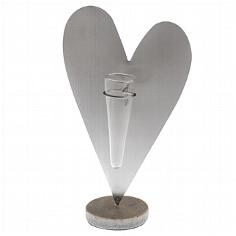 """Dekoständer """"Herz aus Metall"""" - für Blumen zur Hochzeit"""