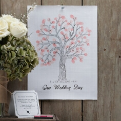 """DIY Set """"Wedding Tree"""" - Schönes Hochzeitsgeschenk für das Brautpaar"""