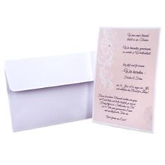 """Einladungskarte Hochzeit """"Farida"""""""