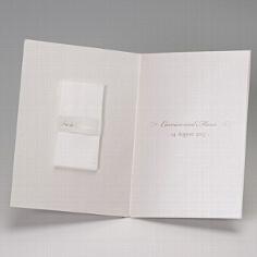 Einlegeblatt für A5 Kirchenhefte und Hochzeitskarten perlmutt
