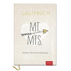 """Eintragbuch """"Mr. & Mrs."""" für die Hochzeitsgäste"""