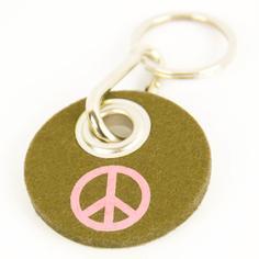 """Filz-Schlüsselanhänger """"Peace"""""""