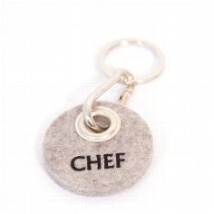 "Filz-Schlüsselanhänger ""Chef"""
