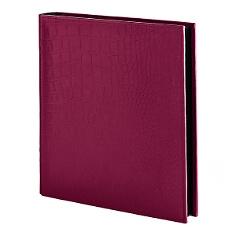 "Fotoalbum ""Croco Quadrato"" in Pink"