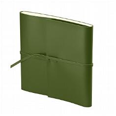Gästebuch Romano Quadrato grün