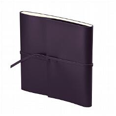 Gästebuch Romano Quadrato lila