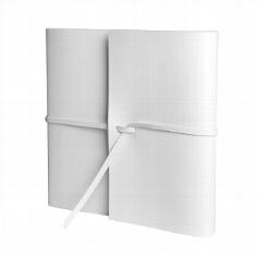 Gästebuch Romano Quadrato - Weiß