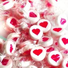 Bonbons Herz weiß 250g - für Ihre Hochzeit