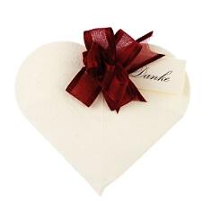 Gastgeschenk Hochzeit Herzform