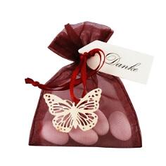 Gastgeschenk Hochzeit mit Schmetterling