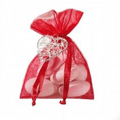 Gastgeschenk Hochzeit Harmonia rot