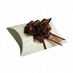 Gastgeschenk Naxos in elfenbein-braun