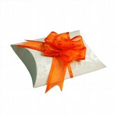 Gastgeschenk Naxos in elfenbein-orange