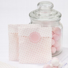 Mini Candy Bags Punkte