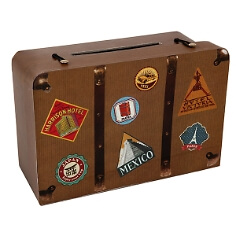 """Geldgeschenk-Koffer """"Hochzeitsreise"""""""