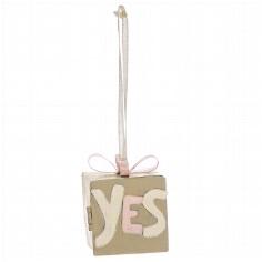 """Geldgeschenk-Box """"YES"""" - Box mit Aufschrift """"YES"""""""