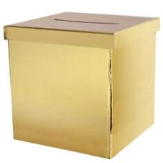Geschenk-/Briefbox-gold