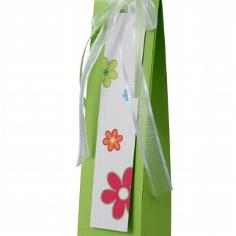 """Geschenkanhänger """"Blume"""" für das Gastgeschenk zur Taufe"""