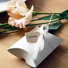 Geschenkanhänger Vintage für Gastgeschenke zur Hochzeit