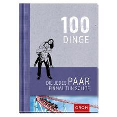 """Geschenkbuch """"100 Dinge, die jedes Paar einmal tun sollte"""" - Originelles Buch für Paare"""