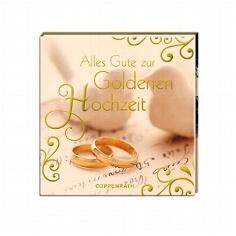 """Geschenkbüchlein """"Alles Gute zur Goldenen Hochzeit"""""""