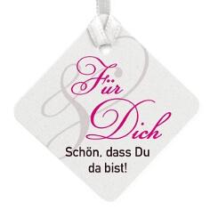 Geschenkkärtchen Calla mit festem Text
