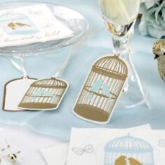 Glas- und Geschenkanhänger Vogelpaar