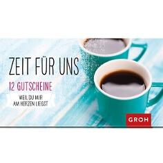 """Gutscheinbuch """"Zeit für uns"""""""