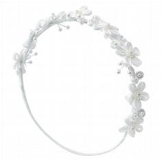 """Haarschmuck Blumenmädchen """"Lilly"""" - Für die Hochzeitshelfer"""