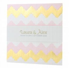 Hochzeitseinladung Amelia - auffälliges Muster