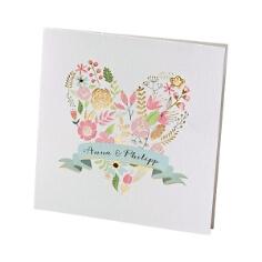 """Hochzeitseinladung mit Blütenprint """"Anna"""""""