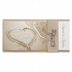 Hochzeitseinladung Daria - Frontansicht