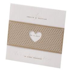"""Einladungskarte zur Hochzeit """"Elli"""""""