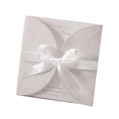 """Hochzeitseinladung """"Louise"""" 2 Design - im schönen Blumenmuster"""
