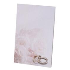 """Hochzeitskarte """"Kylie"""" als Kirchenheft zur Hochzeit"""