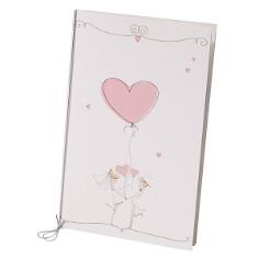 """Hochzeitskarte """"Lotta"""" im Retrolook"""