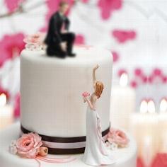 """Hochzeitsfigur """"Braut sucht..."""""""