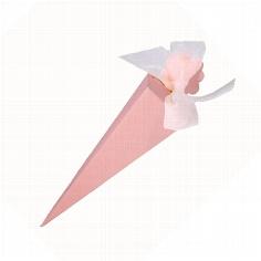 "Kartonage ""Tüte"" rosa"