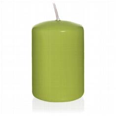 """Kerze """"Farbenfroh"""", gross, grün"""