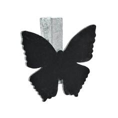Klammer-Schmetterling-silber