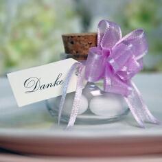 Geschenkanhänger für Gastgeschenke zur Hochzeit
