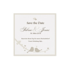 Save-the-Date oder Dankeskarte